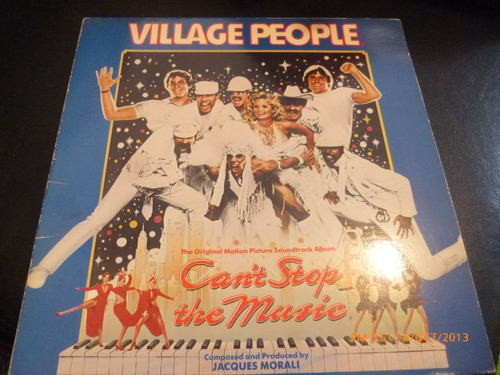 vinilo lp de village people - can't stop the music (23)