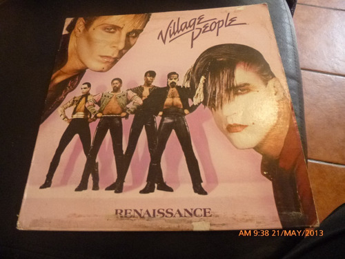 vinilo lp de  village people  renaissance (461)