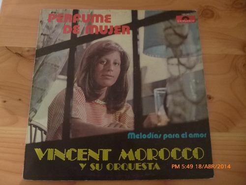 vinilo lp de vincent morocco -- perfume de mujer (u787