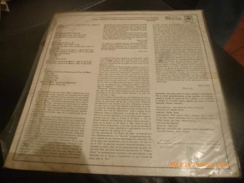 vinilo lp de walter  carlos y el sintetizador  bien tem(1087