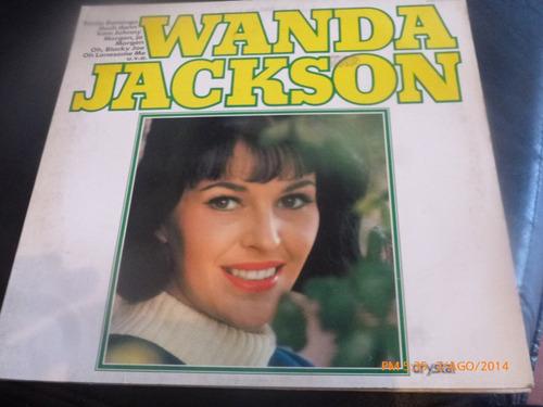 vinilo lp de wanda jackson /// santo domingo (lp676