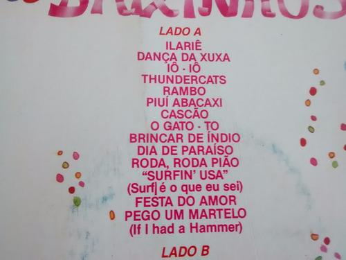 vinilo lp de xuxa - carnaval de baixinhos (u99
