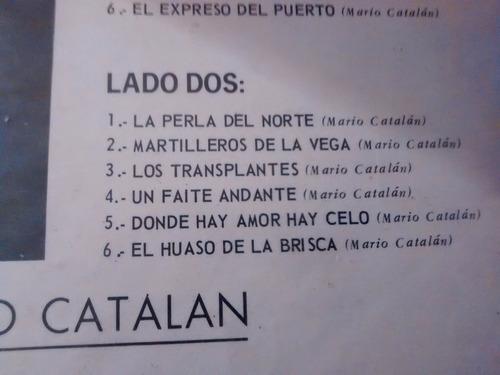 vinilo lp del duo rey silva - mario catalan   puras cue(1161
