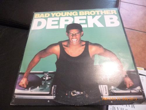 vinilo lp  derek b   --bad young brother(u440