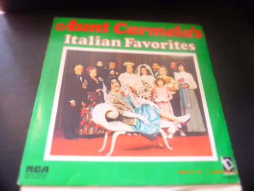 vinilo lp doble aunt carmelas -italian favorites (1152