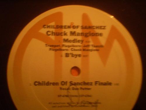 vinilo lp  doble  de children of sanchez (u2