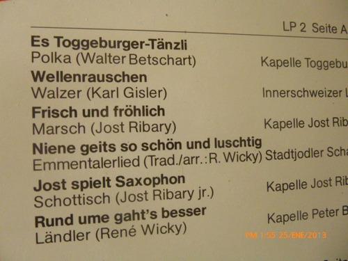 vinilo lp doble  urchigi choscht    es lade n'i. (u703
