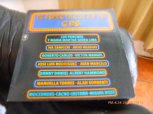 vinilo lp  el espectacular cbs - varios (u1101