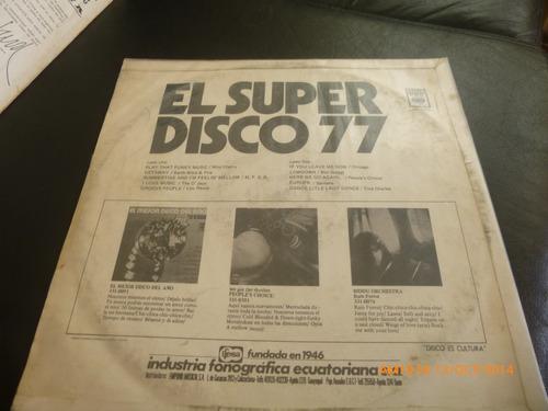 vinilo lp el super disco 77 tina charles -santana (1046