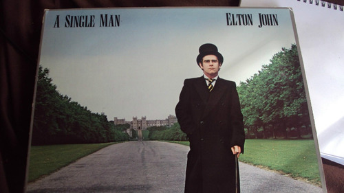 vinilo lp elton  single man