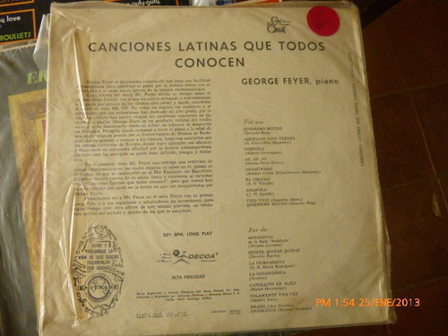 vinilo lp  george feyer y su piano (787