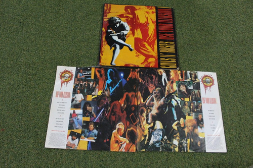 vinilo lp guns and roses use your illusion 1