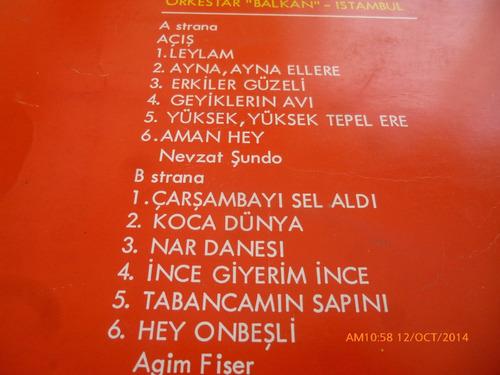 vinilo lp halk turluleri  turske narodne  (219