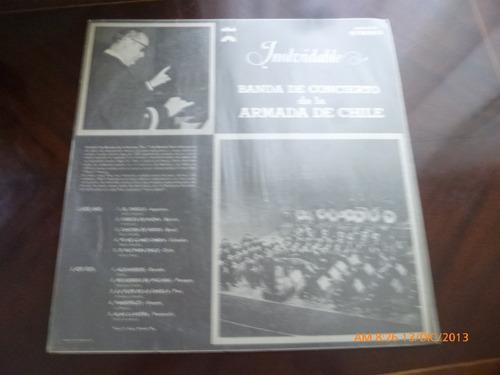 vinilo lp inolvidable - banda de concierto de la armada (403