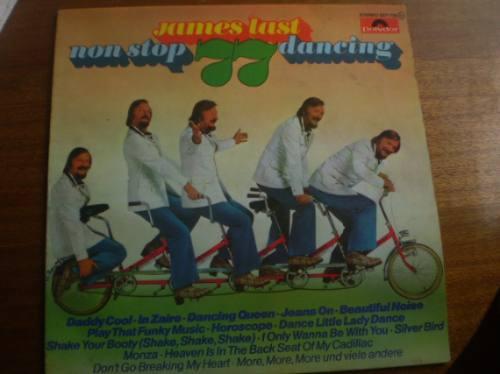 vinilo lp james last non stop 77 dancing  (u361