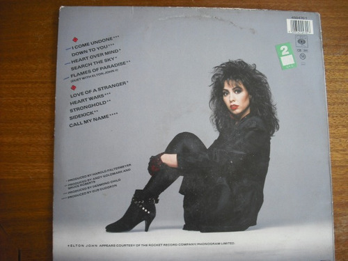 vinilo lp jennifer rush  i come undone (301)