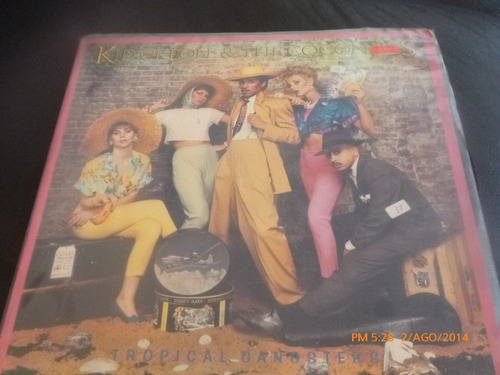 vinilo  lp kid creole / the coconuts   / tropical gangs (680