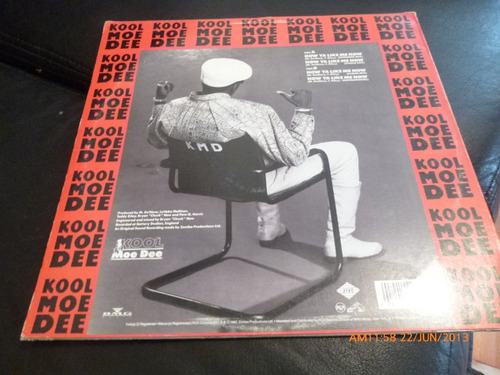 vinilo lp  kool moe dee  -how ya like me now (519)