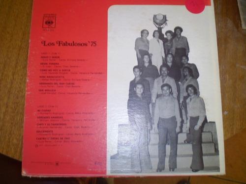 vinilo lp  los fabuloss 75 (599)
