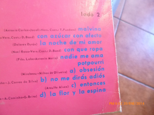 vinilo lp maria creuza - obsesion (u826