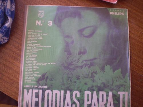 vinilo lp  melodias para ti andre y su conjunto (727)