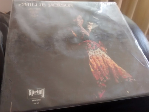 vinilo lp  millie jackson - my man , a sweet ( u783