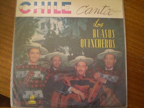 vinilo lp nº  los huasos quincheros chile canta (737)