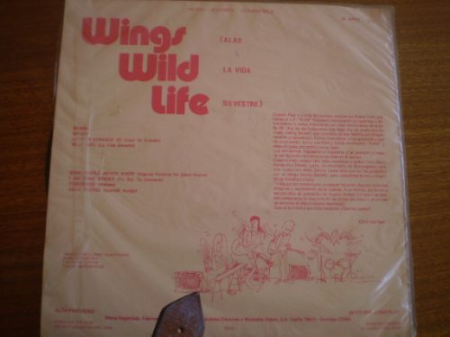 vinilo lp paul mccartney ( alas a la vida silvestre) (u375