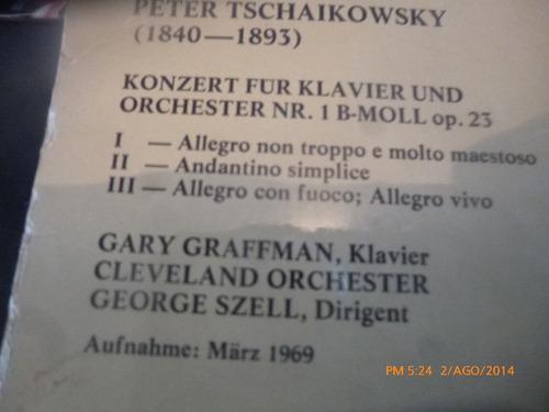vinilo  lp peter tschaikowsky // klassik von cbs 1(u921