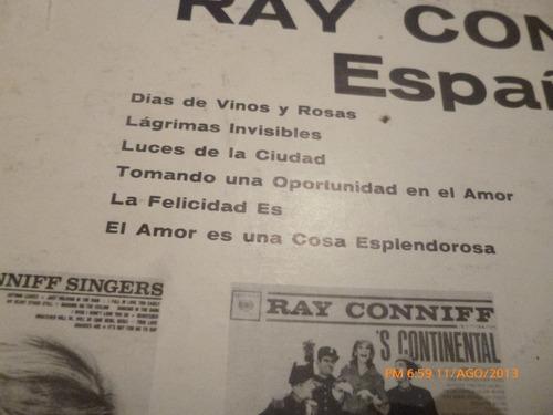 vinilo lp ray conniff  en español (590)