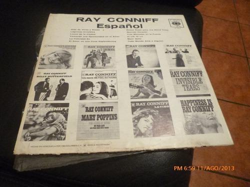 vinilo lp ray conniff  en español (u464