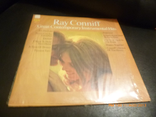 vinilo lp ray conniff  -intrumentos contemporeneos (u472