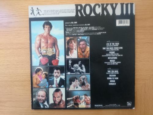 vinilo lp rocky 3 soundtrack ( impecable )