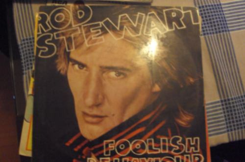 vinilo lp rod stewart foolish behaviour ed. chilena 1970