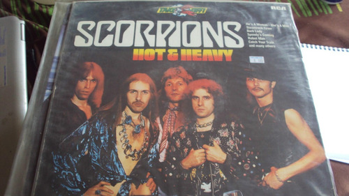 vinilo lp scorpions hot and heavy