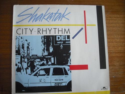 vinilo lp shakatak  city rhythm (u377