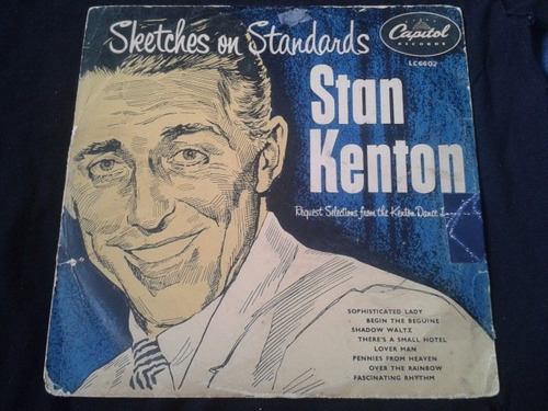 vinilo lp sketches on standars  33 1/3