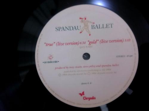 vinilo lp spandau ballet - round and round