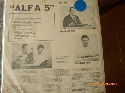 vinilo lp tangos alfa  (718)