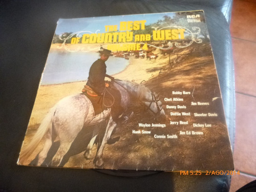 vinilo  lp the best of country and west  volumen 4 (420