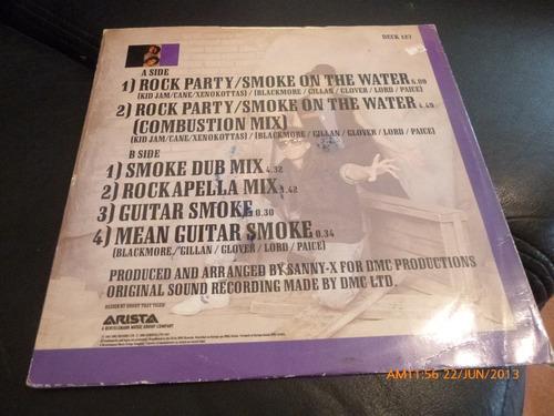 vinilo lp  the da  rock party -smoke on the water (lp514