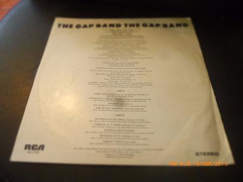 vinilo lp  the gap band  -- fuera de lo azul (u1042