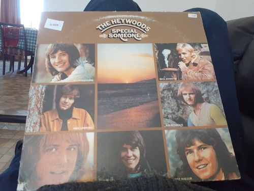 vinilo lp  the heywoods special someone (u919