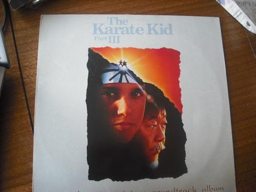 vinilo lp   the karate  kid parte 3 (u650