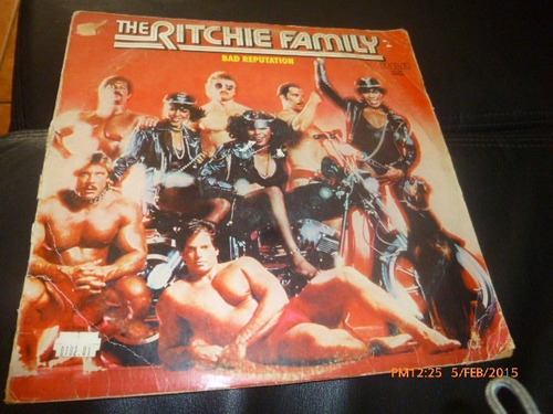 vinilo lp the ritchie family  bad reputacion (u253