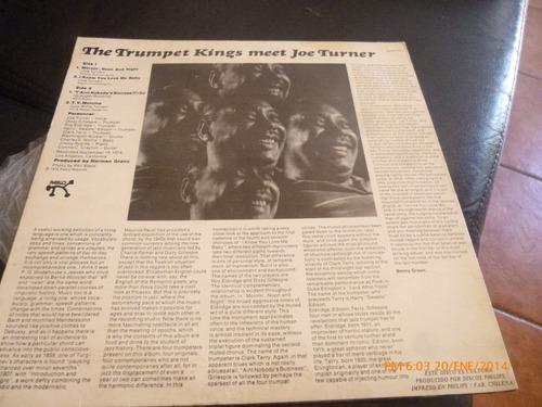 vinilo lp the trumpet kings meet joe turner (910)