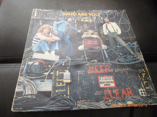 vinilo lp  the who -- who are you (528