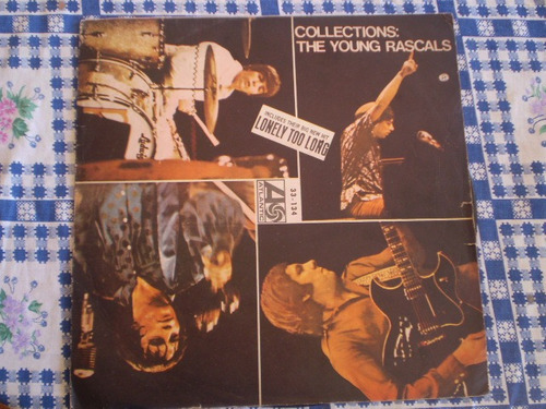 vinilo lp  the young rascals   colecciones (u322
