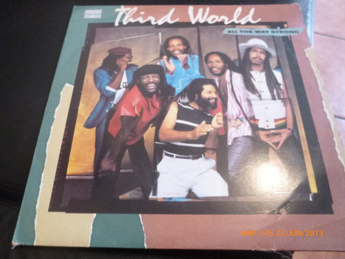 vinilo lp  third world  all the way strong (u728