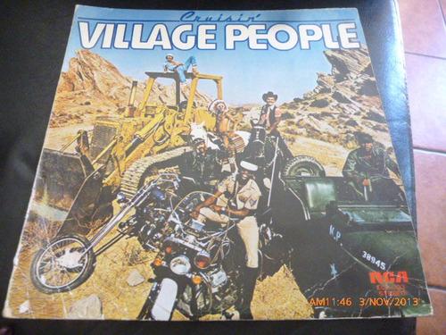 vinilo lp  village people  -- cruisin (536)
